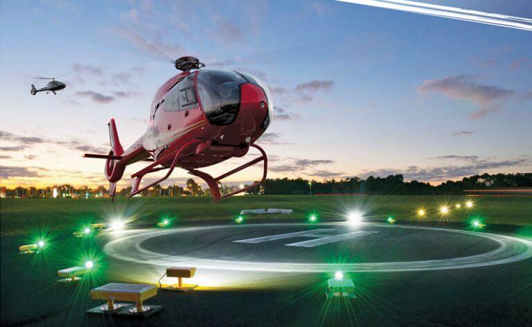 Світлотехнічне обладнання для вертодромів та тимчасових вертольотних майданчиків