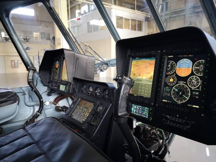 Отработка системы экранной индикации для вертолетов Ми-8МСБ